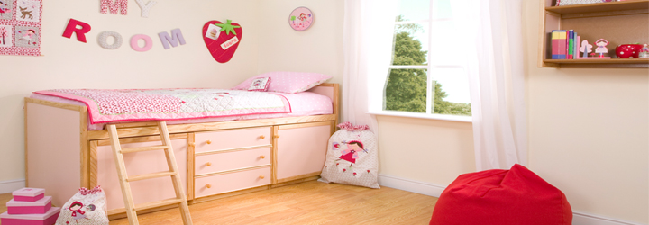 Strawberry Patch Bedrooms