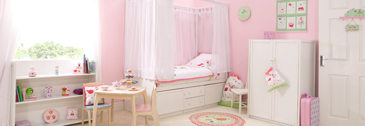 Tea Party, Cupcake and Fairy Bedrooms