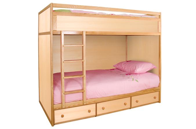 Home » Children's Beds » Bunk Beds » Wooden Bunk Bed