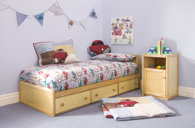 Wood Toddler Bed : Wood Toddler Bed : Wooden Toddler Bed