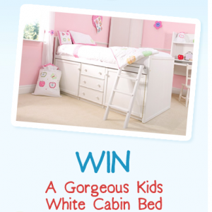 WIN a Luxury Kids Bed with Our Facebook Page