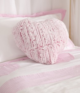 Faux Fur Cushion from the Heart Range by Childrens Bed Centres