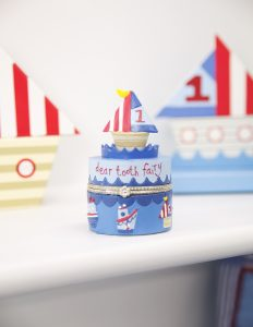 Tooth Fairy Box for Kids in the Ships Theme