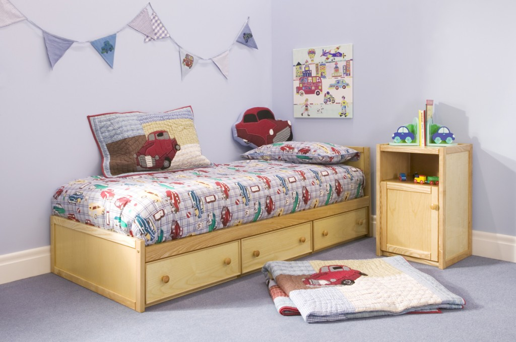 Wooden Toddler Bed from the Childrens Bed Centres toddler bed range