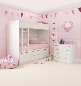 Bunk Bed Wall Bunting
