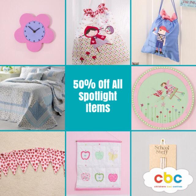 50% Off Spotlight Items