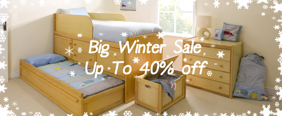 Childrens Bed Centres Extend Winter Sale