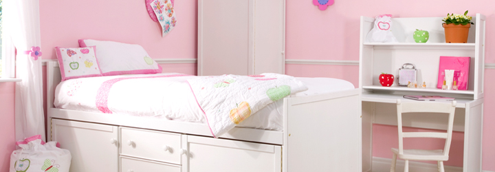 Apple & Rainbow Bedrooms