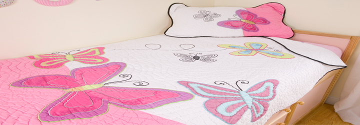 Butterfly and Horse Bedrooms