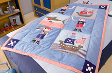 Quilts, Throws and Pillowshams