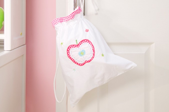 Apple Drawstring Bag