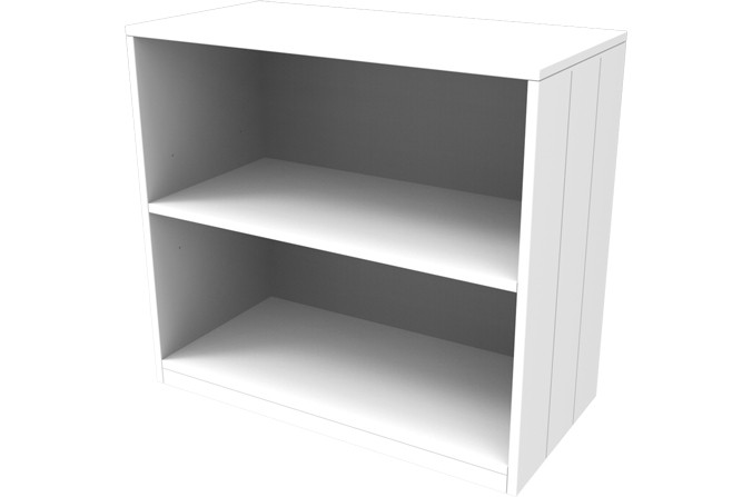 Savannah White Bookcase