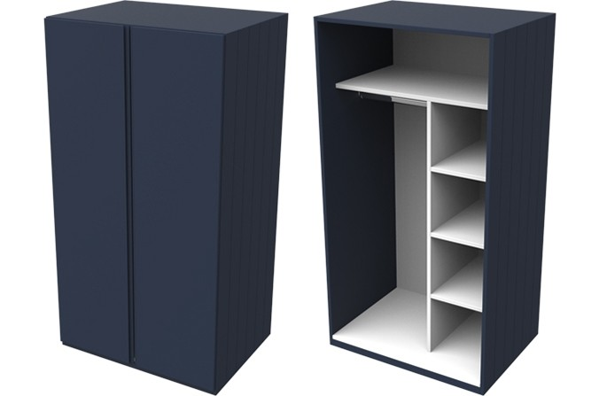 Armada Navy Small Wardrobe