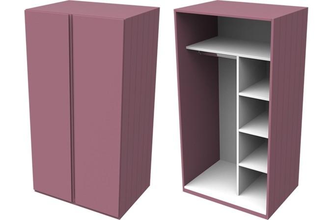 Armada Pink Small Wardrobe