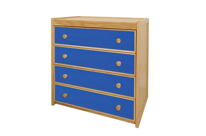 Children's Chest of Drawers - Available in Blue and Pink