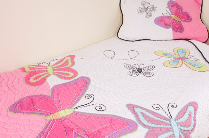 Butterfly Quilt - Double