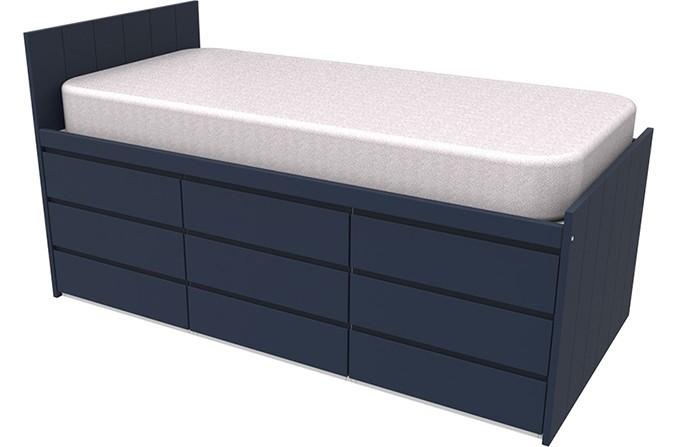 Armada Maxi Navy Cabin Bed