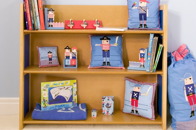 Children's Large Shelves - Available in Blue and Pink