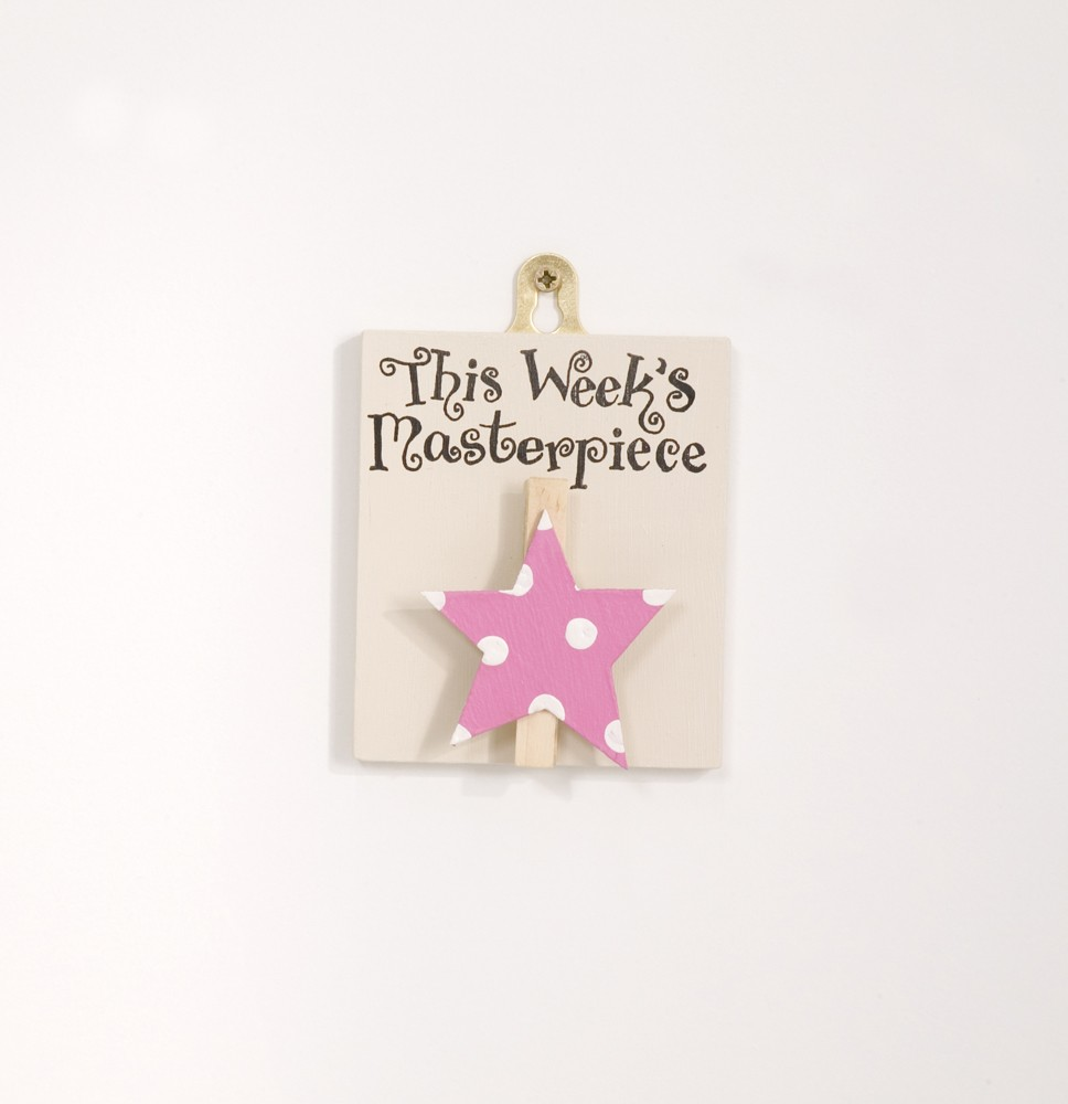 This Week's Masterpiece - Pink Star, Spots