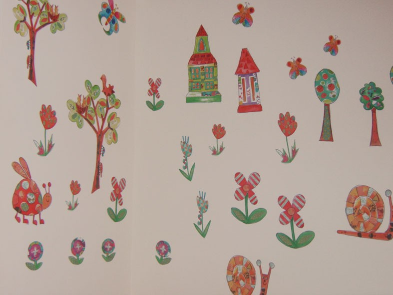 In My Garden Wall Stickers