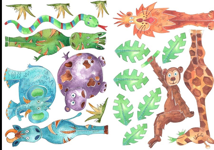Jungle Wall Stickers