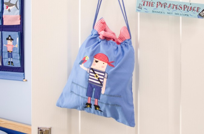 Pirates Drawstring Bag