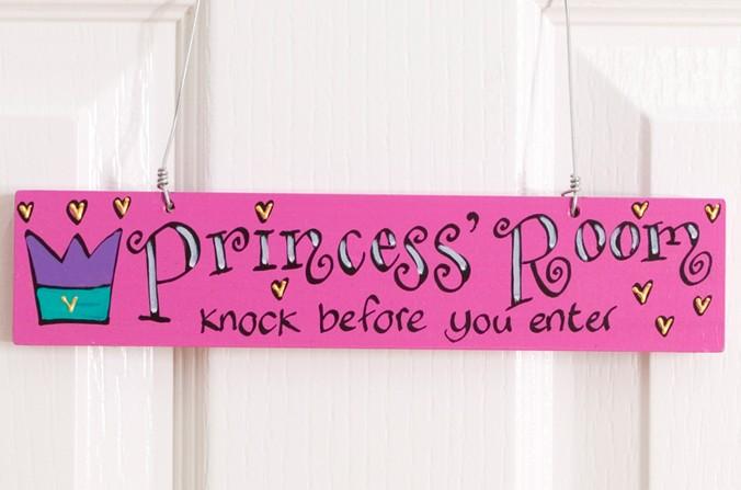 Princess Door Plaque