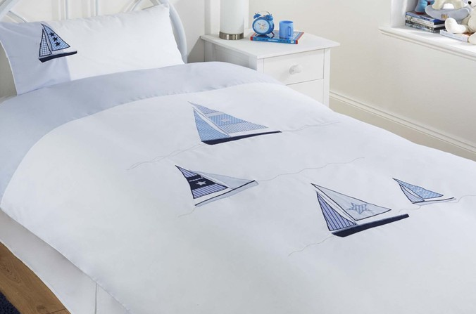 Sailing Duvet Cover Set