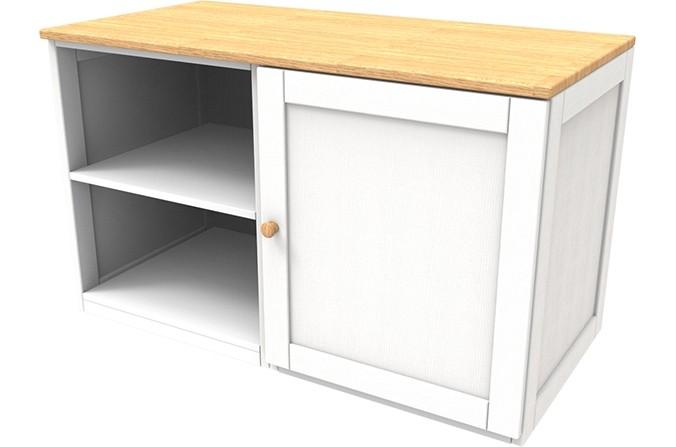 Sierra White Bedroom Storage Unit