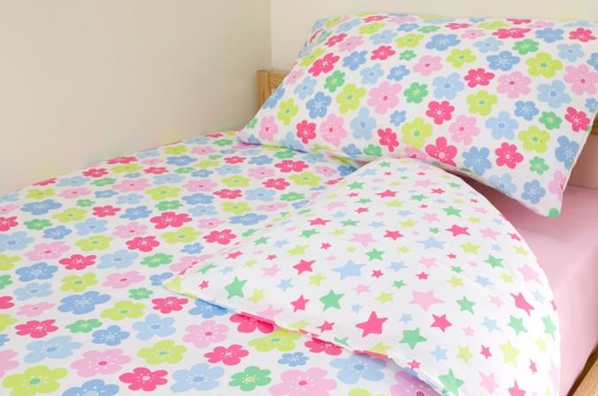 Flowers & Stars Bed Linen