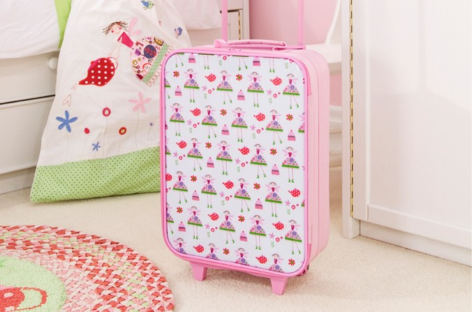 Tea Party Suitcase