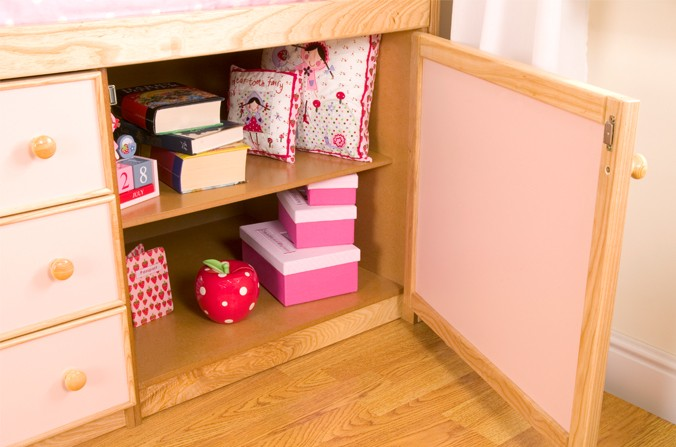 Bed Cupboard Shelves
