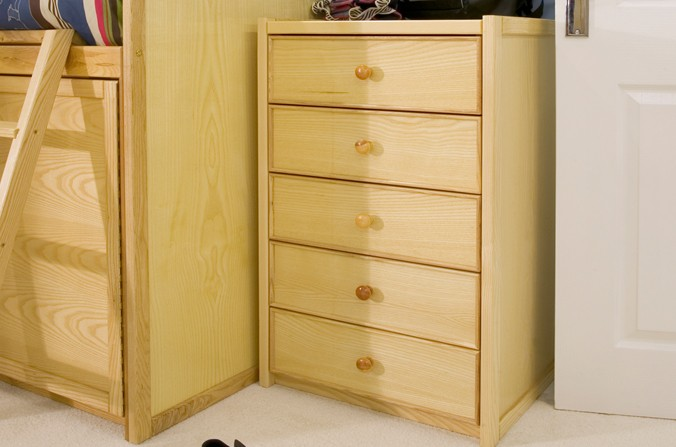Wooden Tall Chest of Drawers