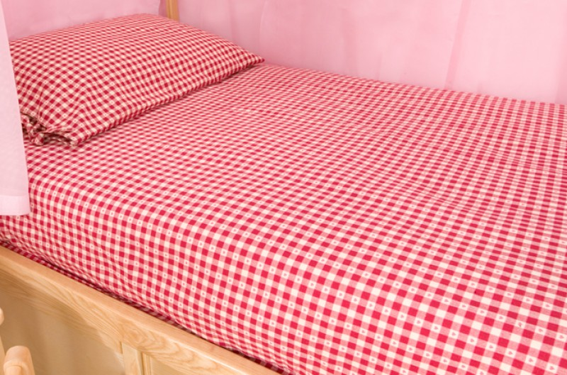 Poppy Gingham Duvet Cover Cbc