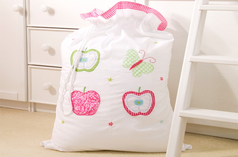 Apple Laundry Bag