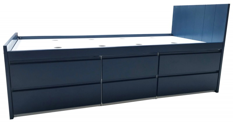 Armada Navy Storage Bed