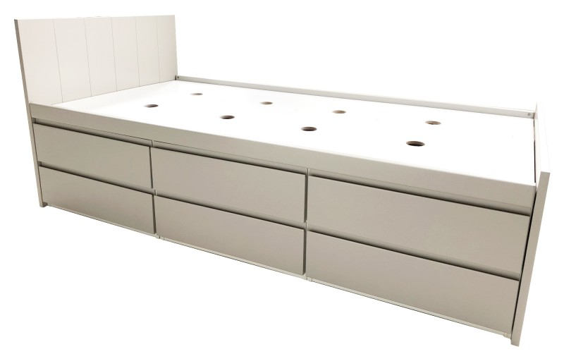 Armada Grey Storage Bed