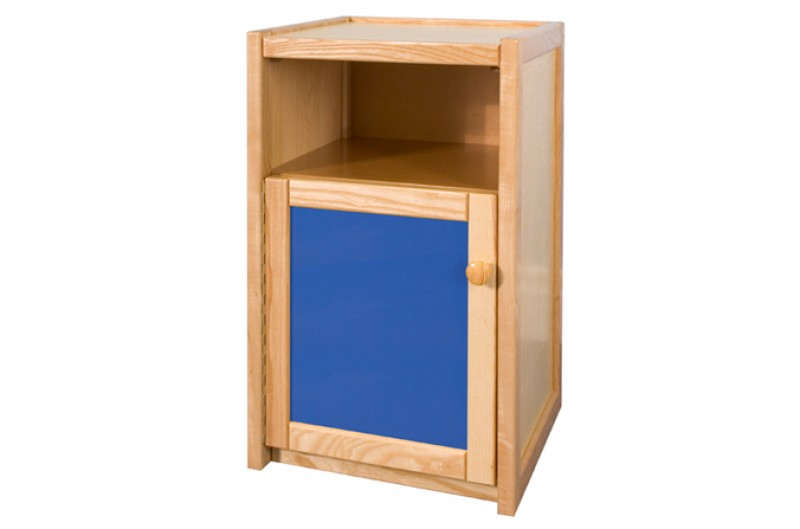Children's Bedside Cupboard - Available in Blue and Pink