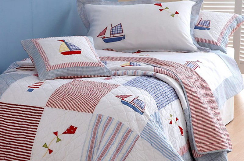Boats and Kites Duvet Set