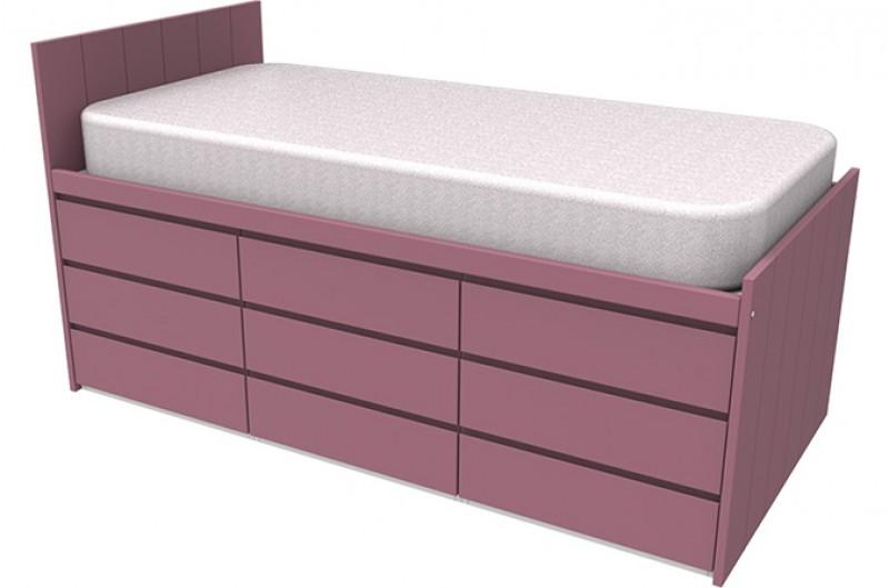 Armada Maxi Pink Cabin Bed