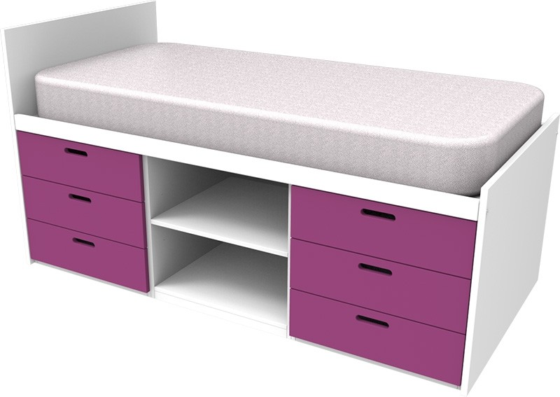 Cheyenne Pink Cabin Bed