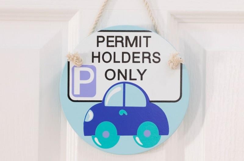 Car Door Plaque