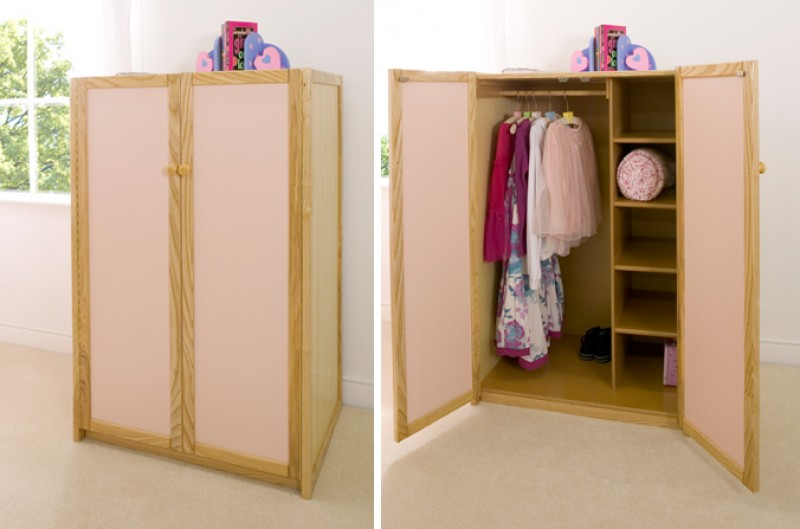 Children's Wardrobe - Available in Blue and Pink