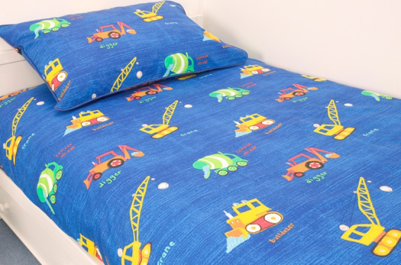 Construction Bed Linen