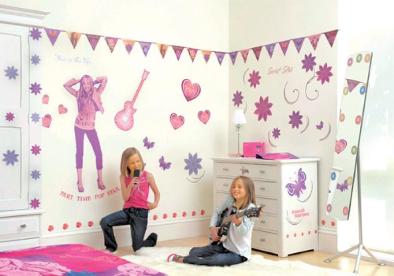 Hannah Montana Room Make-Over Kit