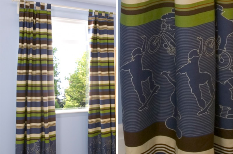 Extreme Sports Curtains