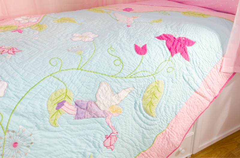 Fairy Quilt and Pillowsham - Single