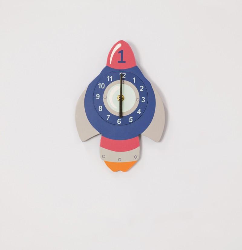 Rocket Clock