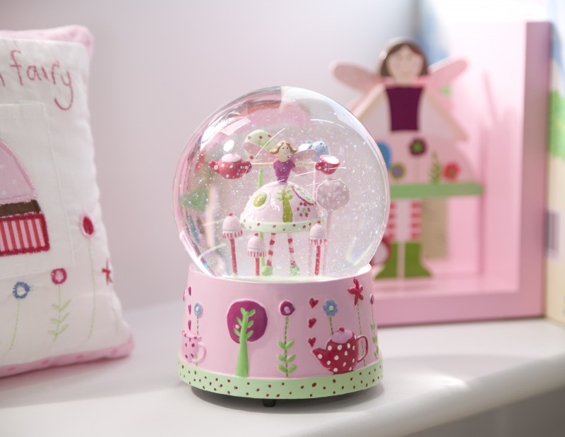 Tea Party Musical Snow Globe