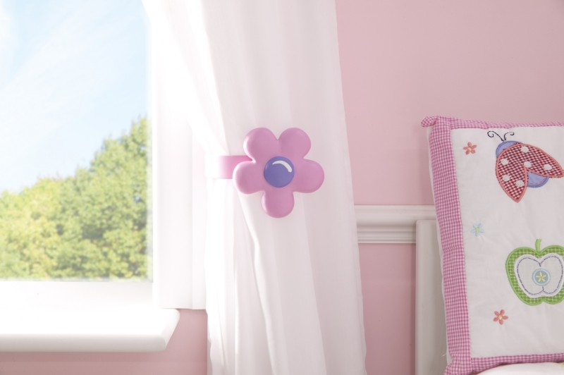 Flower Curtain Tie Backs